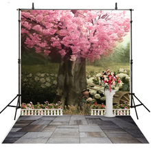 Wedding Photography Backdrop Pink Floral Vinyl Backdrop For Photography Photocall Infantil Wedding Background For Photo Studio