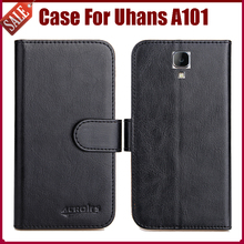 Uhans A101 Case 6 Colors Flip Leather Exclusive Protective Cover - Guangzhou Venice store