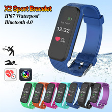 Buy Original X2 Smart Bracelet Wristband Pedometer Fitness Tracker Bracelet Smartband Heart Rate Monitor Wterproot IOS Android for $34.59 in AliExpress store