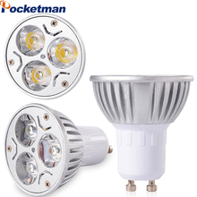 Dimmable LED Lamp GU10 220V 110V Lampada LED Spotlight GU10 9W 12W 15W 85-265V Spot Light Luz LED Bulbs Lighting ZK50(China)