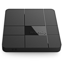 Wechip V8 Android 7.1 Smart TV Box WiFi Amlogic S905W 2.4GHz Quad-core 2.4G 64Bit Set Top Box 1G/8G / 2G/16G 4K Media Player(China)