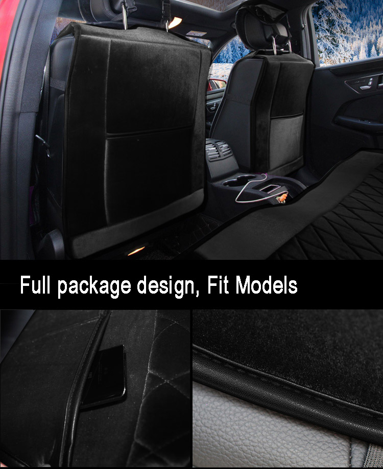 Styling-Stud-Crystal-Plush-Car-Seat-Covers-Universal-Cute-Car-Interior-Accessories-Cushion-Black-7