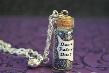 12pcs/lot Once Upon a Time Dark Fairy Dust with a Lady Bug Charm Evil Potion Snow White Trolls Enchanted Forest Ouat
