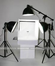 photo light tent tent cube photography background holder photo tent light 50cm 3 photography light 125w bulb cd50(China)