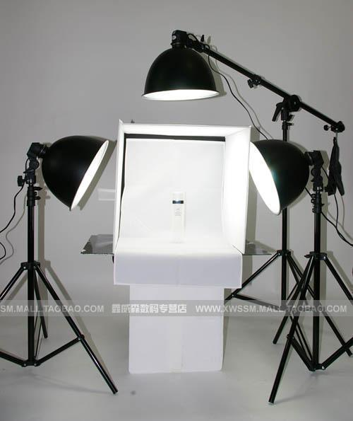photo light tent tent cube photography background holder photo tent light 50cm 3 photography light 125w bulb cd50(China (Mainland))