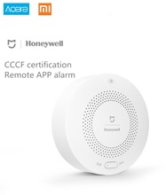 Buy Xiaomi Honeywell Gas Alarm Detector, Aqara Zigbee Remote Control CH4 Monitoring Ceiling&Wall Mounted Easy Install Work Mijia APP for $34.00 in AliExpress store