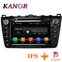 KANOR Android 8,0 4 + г 32 г 8 Core ips 2din автомобиля радио для Mazda 6 Ruiyi 2008 2009 2010 2012 2011 Wi Fi gps DVD плеер Мультимедиа ПК(China)