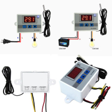 Buy 220V Digital LED Temperature Controller Thermostat Control Switch Probe DIY Temperature Controller Mayitr for $4.55 in AliExpress store