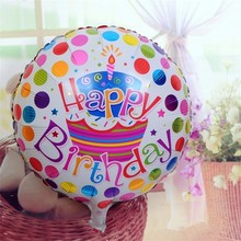 1 pc 18 inch Aluminum Cartoon Balloon Children Happy Birthday Party Decoration Ball Balloons Celebration Party Funny Kids Gift(China)