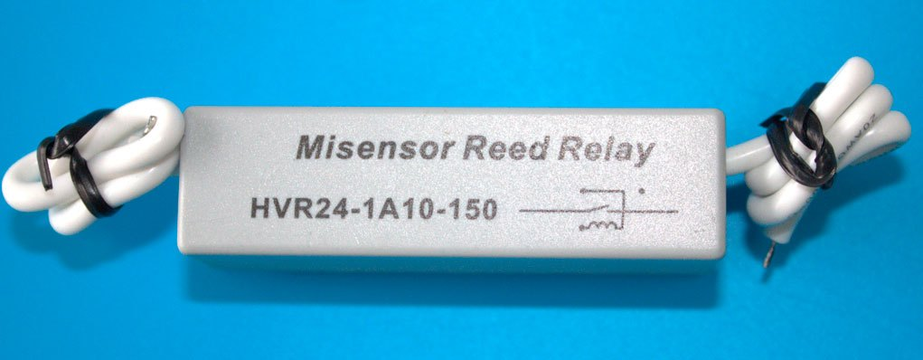 High Pressure Reed Switch, Relay, High Voltage Lead Contact, Pressure Resistance 10KVDC, 24VDC Coil<br>