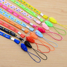 10pcs/lot Lanyards For Mobile Phone Neck Straps Keychain Necklace ID Card Working Card Badge Holde Neck Cell Phone Straps