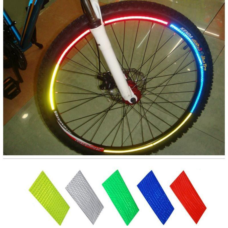 Bike Reflective Stickers Motorcycle Bicycle Reflector Cycling Warning Reflec,AU