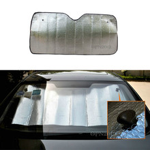 Foldable Car Sun Shade Visor Shield Rear/Front Windshield Reflective Heat Cover 2168
