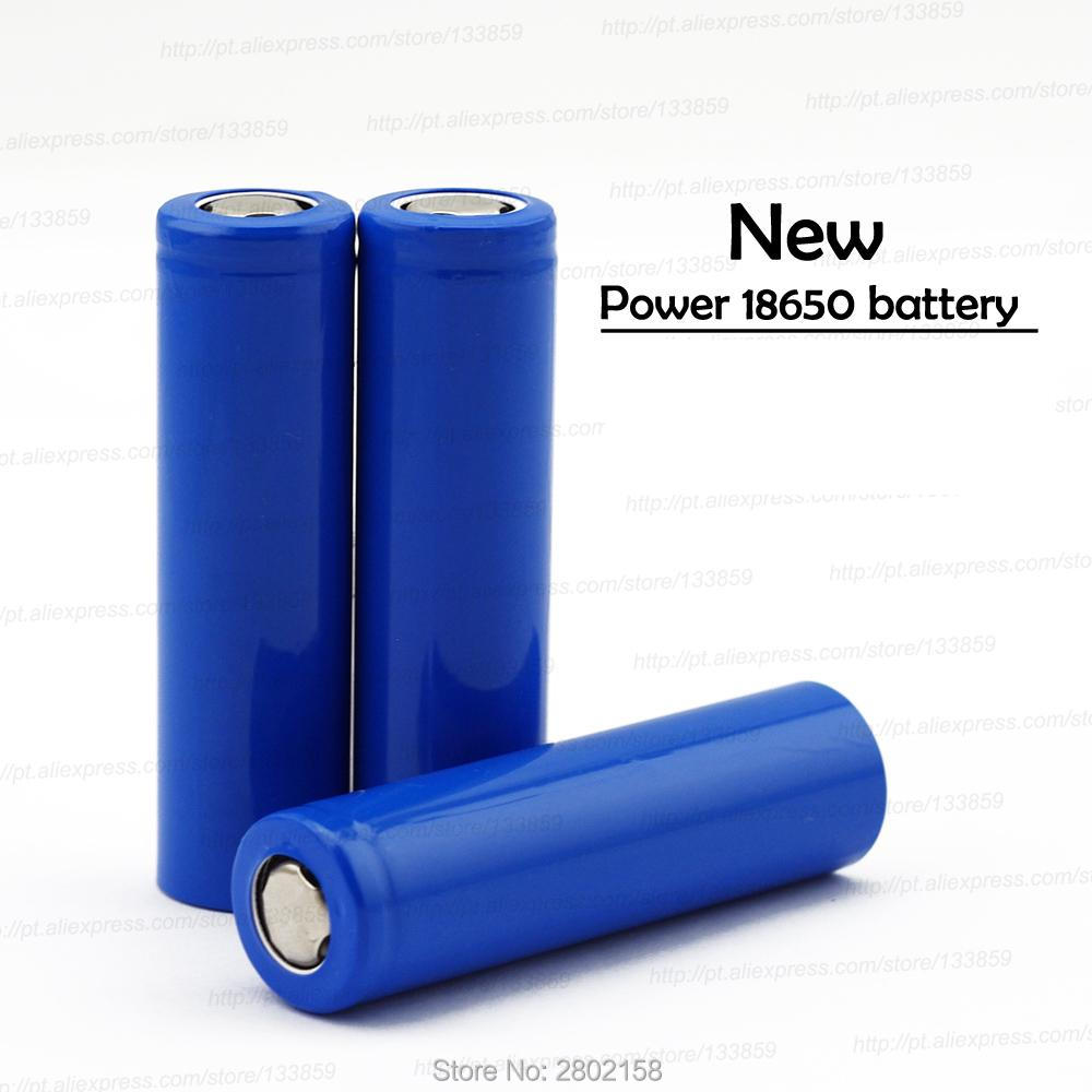 4 PCS Free shipping for18650 2000mah lithium battery 3.7 V rechargeable battery mobile power strong light flashlight batteries(China)