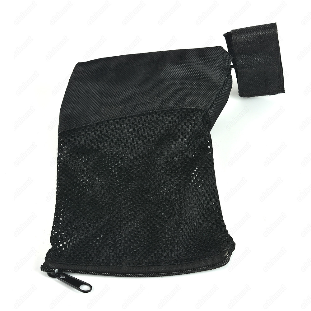 Tactical Mesh Casing Collecter Brass Shell Catcher Bag Trap For 223//5.56 Black
