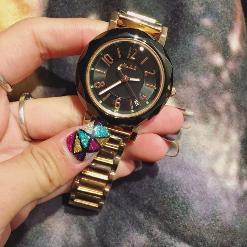 New Arrival Gold Watch Women Fashion Casual Quartz Watch Ladies Wrist Watches Luxury Brand Rose Gold For Wome Watch Reloj Mujer<br>