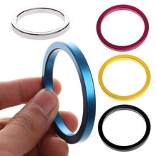 40/45/50mm Penis Rings Cockrings Delayed Ejaculation Casing Lock Loops Cock Ring #E015C#