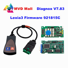 2016 Newest Diagbox V7.83 921815C Lexia3 PP2000 V48 / V25 Lexia 3 Diagbox 7.83 Lexia-3 For Citroen / Peugeot Car Diagnostic Tool