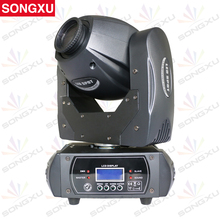 SONGXU 40W LED Moving Head Light 3 Face Prism DMX Controller LED Spot Light for Stage Theater Disco Nightclub Party/SX-MH40