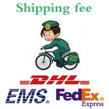 DHL / EMS / Fedex . Shipping fee , Shipping cost , for add fee . Please contact us before placing an order. Thank you very much!