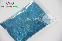 0.2mm Laser Blue Color Glitter Powder Shining Dust(China)