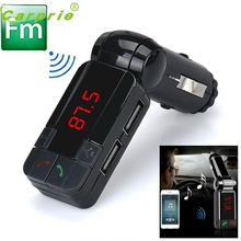 New Arrival Hot Dual USB Car Kit Charger Wireless Bluetooth Stereo MP3 Player FM Transmitter st23
