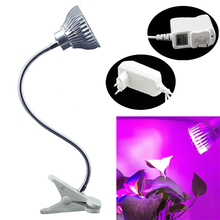Más barato Nuevo Mini LED Grow Light Kit Clip Flexible Full Spectrum Hidropónico de Interior Plantas Vegetales Portable-Y122