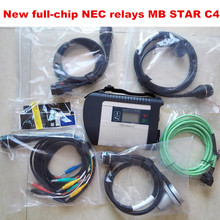 2016.12 latest software MB STAR C4 WITH HDD full-chip PCB 100% NEW NEC relays for All models Function mb sd connect compact 4