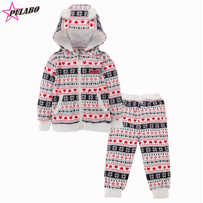 2016 autumn winter baby boys girls clothing set children hoodies coat+pants 2pcs thicken winter warm clothes Ethnic style sets <br><br>Aliexpress