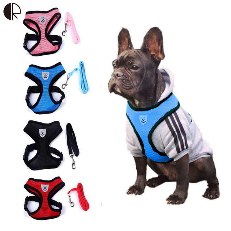 Lovely Cute Small dog Harness Pet Collar Supplies Chihuahua Dog Leash Lead Set Perro Honden Pet Shop Pet Harness Dog Harness(China)