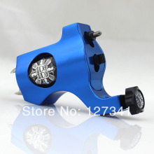 Premium Blue PVD Aluminum Bishop Rotary Tattoo Machine Wholesale Tattoo Supply  Liner Shader Combined