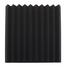 1PC Acoustic Wedge Studio Soundproofing Foam Wall Tiles 50 x 50 x 5cm Black Using polyurethane foam material Hot Sale(China)