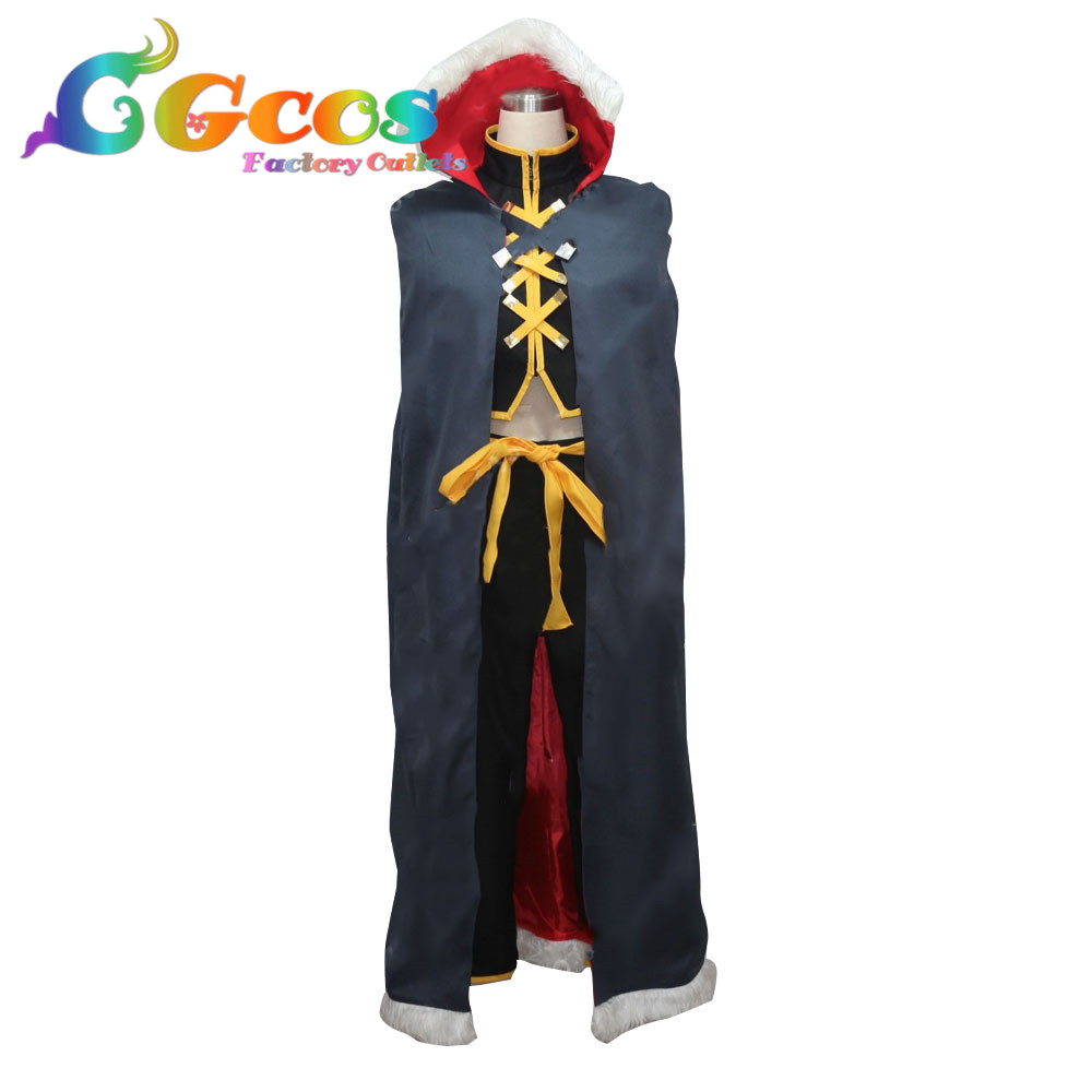 CGCOS Free Shipping Cosplay Costume  Shaman King Tao Ren Uniform Halloween Christmas Party