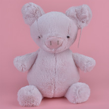 28cm Grey Color Pig Plush Toy, Baby Gift Kids Cow Toy Wholesale with Free Shipping