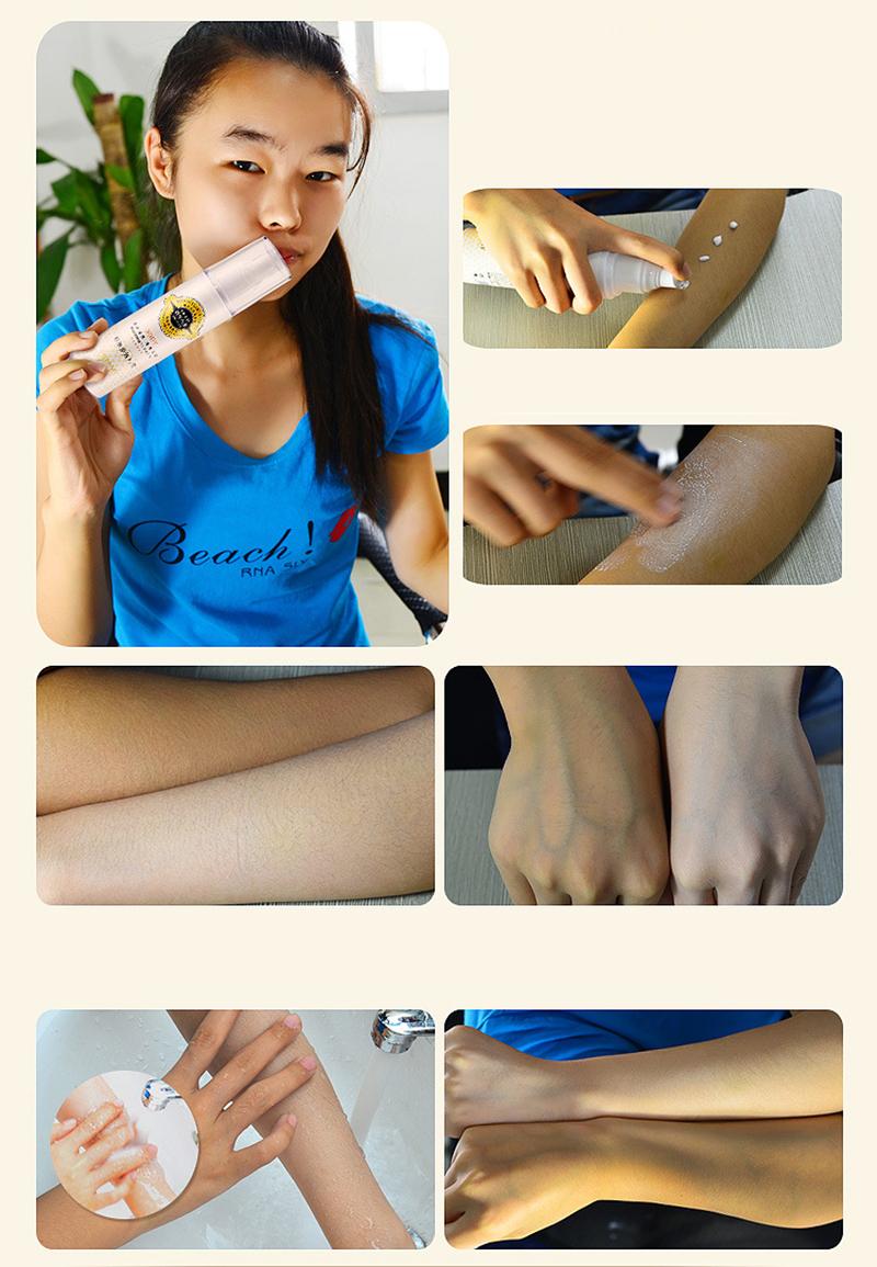 PIBAMY Instantly Whole Body Whitening Cream Moisturizer Skin Whitening Body Lotion Bleaching Cream for Neck Knee Dark Skin 150ML 15