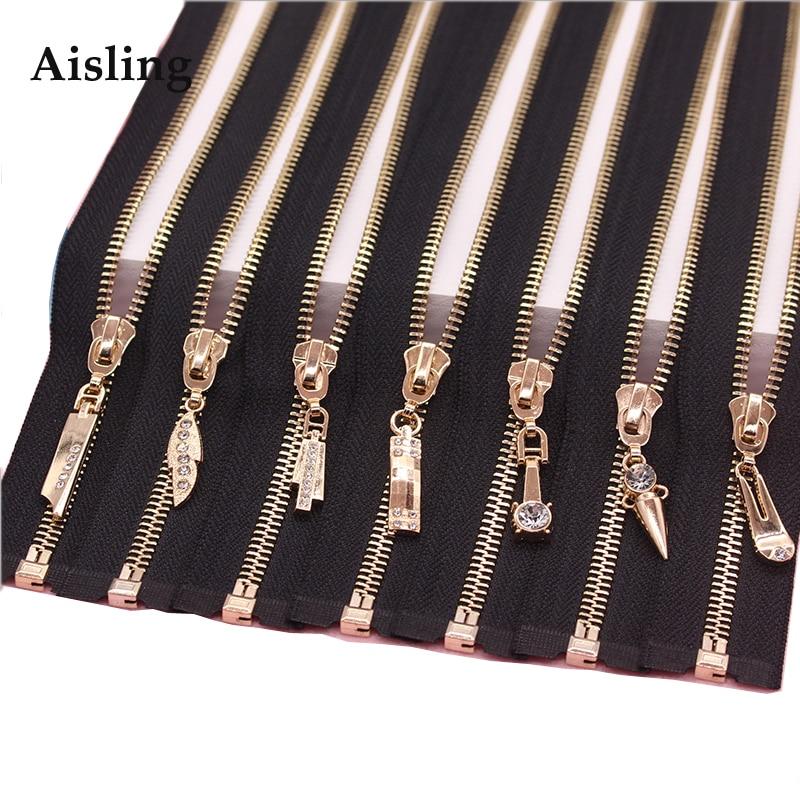 5 Plata De Metal Dientes Cremallera Negro Extremo Abierto 36 Pulgadas//91 cm de largo YKK no//tamaño