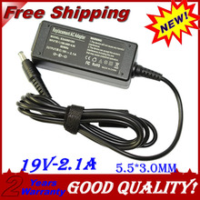 19V 2.1A 5.5*3.0MM 40W Replacement For samsung Q1 Q30 R19 R20 AD-6019 AC Power Adapter Laptop Charger free shipping