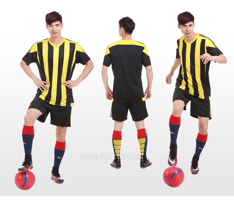 Men Customized Soccer Jerseys Adult DIY Sports Kits 17 Survetement Football Suits Training Jerseys College Soccer Uniform Sets 10