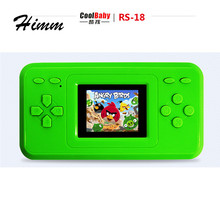 CoolBaby RS-18 1.8 inch LCD 8bit NES 120 Classice Games Inside Marios Handheld Video Game Player Console Games Kids Toys Gift(China)