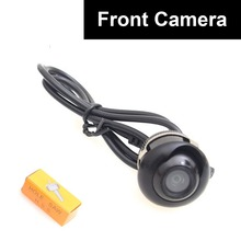 Car Auto Front View Camera Forward Cam Screw Bumper Mount Universal Fit Non-mirror Image w/o Grid Lines
