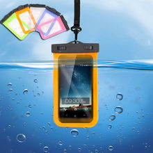Waterproof Underwater Pouch Dry Bag Case Cover For iPhone Cell Phone Touchscreen smartphone colorful River Tracing bags