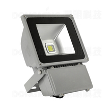 hight bright 80W led flood light IP65 waterproof RGB LED FloodLight LED spotlight outdoor lighting with 24key Remote controller(China)