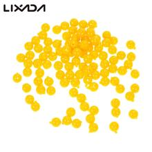 100pcs/Pack Smell Ball Bead Corn Flavour Feeder Artificial Bait Soft Floating Fishing Lure  Carp Fishing Accessories