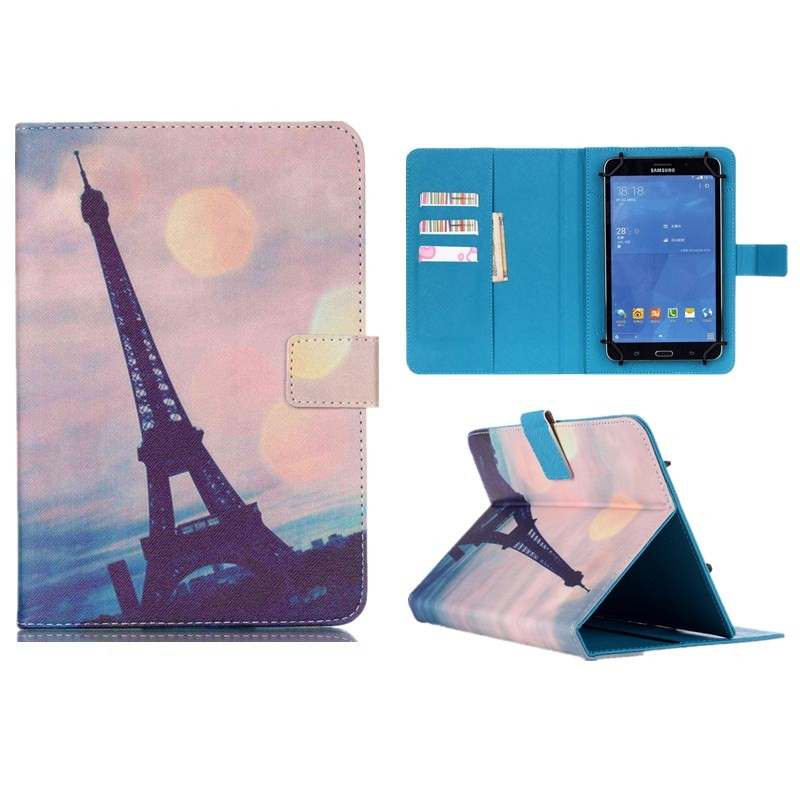 Wallet Universal10 inch Tablet PU Leather Case Stand Cover For ARCHOS 101 Neon101 Xenon101 XS 2 10.1 For Android Cases S5C53D (19)