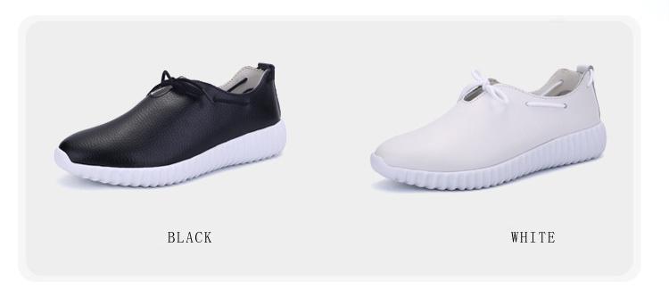 AH 2816 (3) Women's Leather Flats Shoes