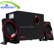 MERRISOIRT 2.1 Computer Speakers System with Powered Subwoofer for Desktops Laptops PC Tablets MP3/4 Players Home Theaters Black(China)