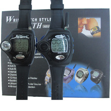 1 Pair Wrist Watch Walkie Talkie handy 2 Two Way Radio rado -watch For Couple LCD Intercom Digital Walkietalkie CB Transceiver