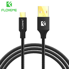 FLOVEME Micro USB Cable 5V/2.1A Charge Nylon Braided 1.2m Wire USB Cable For Samsung Galaxy Xiaomi HTC LG Cellphone Android Cabo(China)