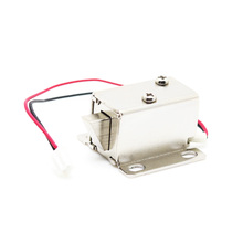 DC 12V Mini Small Size Solenoid Electromagnetic Electric Control Cabinet Drawer Lock for DIY Project