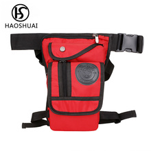 waterproof waist pack men bum bag women hip pouch drop leg bag motorcycle mens waist bag woman fanny packs belt phone thigh bags